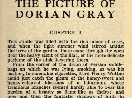 the theme of perfection in the picture of dorian grey by oscar wilde Oscar wilde, flamboyant and witty anglo-irish playwright, poet and critic is best-known for the picture of dorian gray and the importance of being earnest.