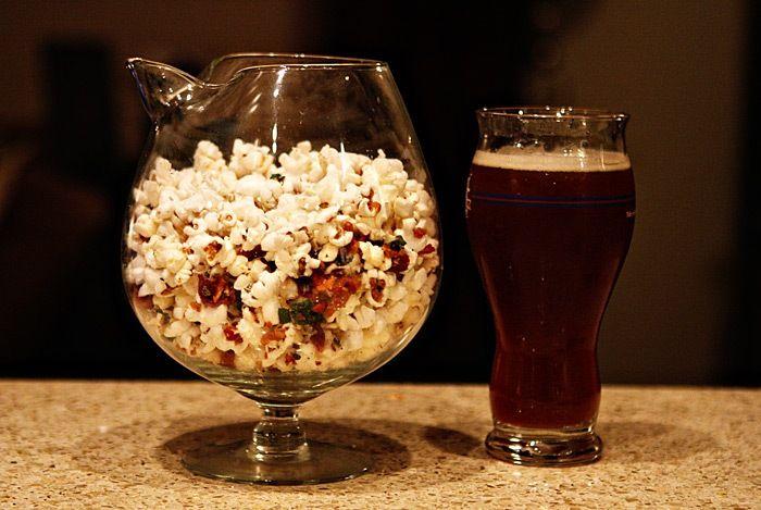 2011-02-10-Bacon-Sage-Popcorn-042 | Nom Nom | Pinterest