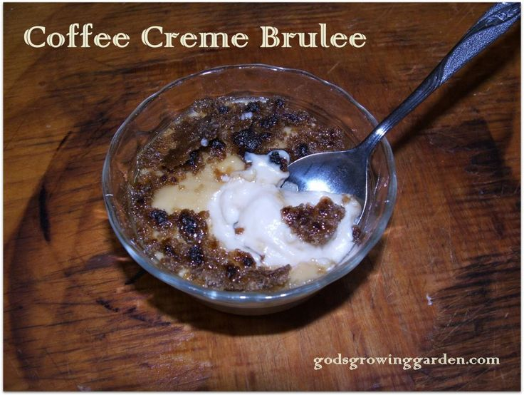 Coffee Creme Brulee Recipe | Eat: Desserts & Snacks | Pinterest
