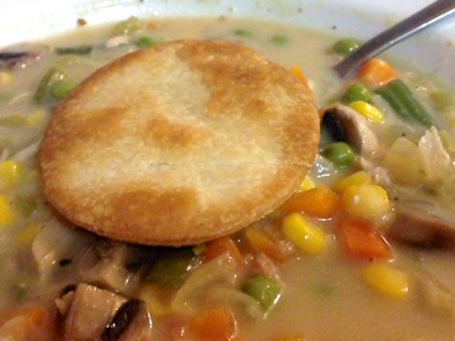 Skinny Chicken Pot Pie Recipe | Food=Fuel | Pinterest
