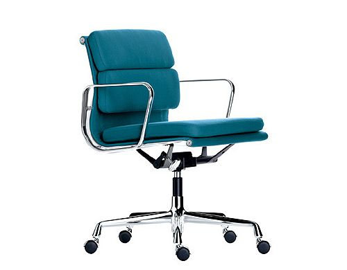 Eames Soft Pad Management Chair Home Objects Pinterest