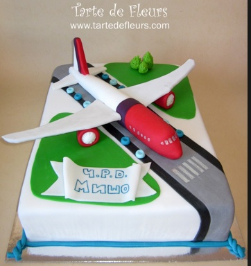 how to make an airplane cake video