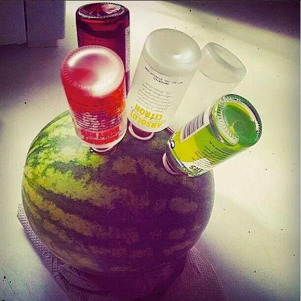 Watermelon Vodka Drinks Alcohol