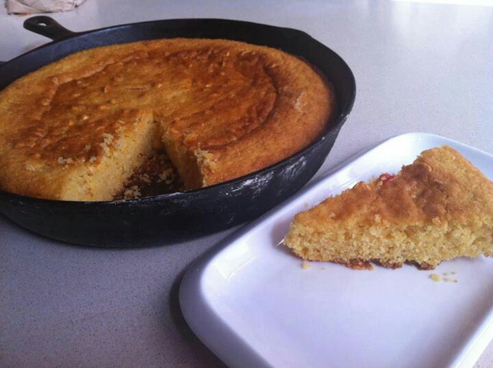 Pan de maiz al sarten | food | Pinterest