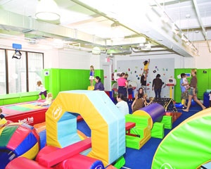 Kidville indoor play place pinterest for Indoor party places for kids