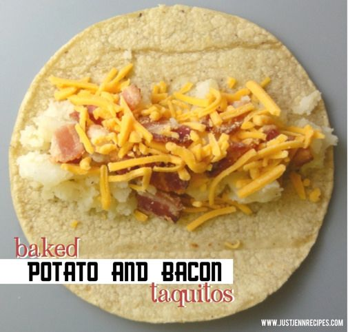 Bacon and Potato Taquitos | Yummy yummy | Pinterest