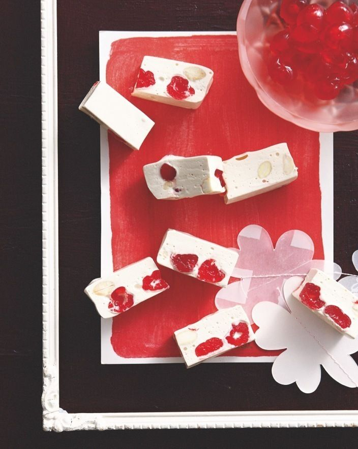Cherry Almond Nougat | Recipe