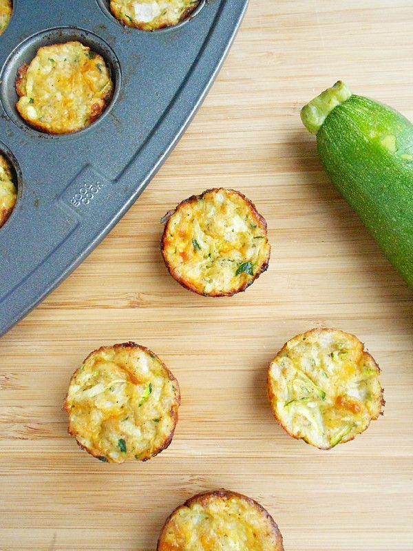 Zucchini Tots | Food Porn - Veg and Salads | Pinterest