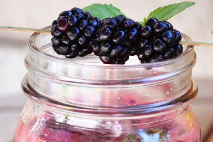 Blackberry Gin Fizz | my favorite dishes | Pinterest