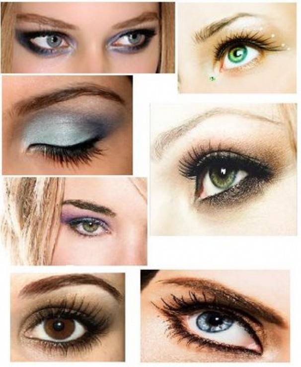 How to apply Brown eye makeup