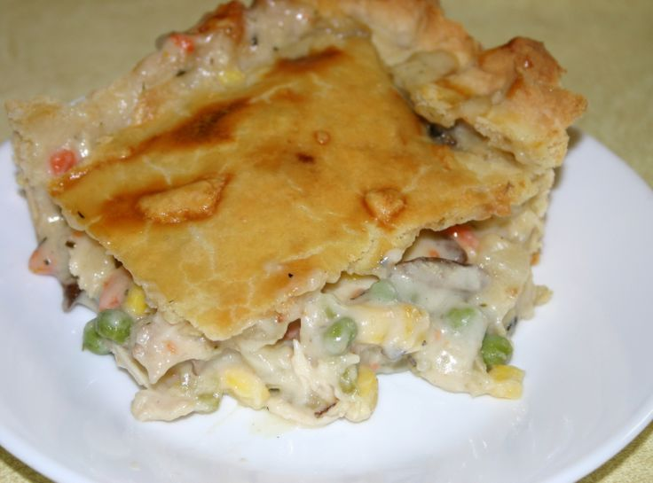 Deep Dish Chicken Pot Pie | Recipes to try - Casseroles/Main Dishes ...