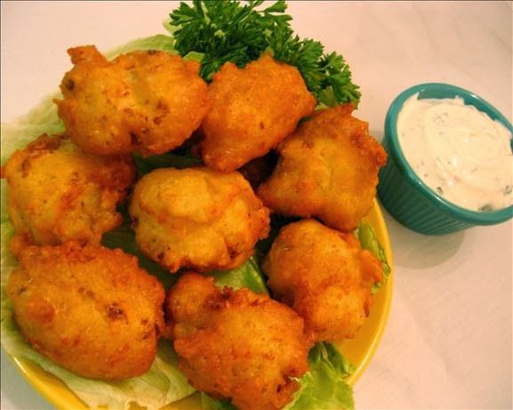Cauliflower Cheddar Fritters | Quick Recipes & Kitchen Tips