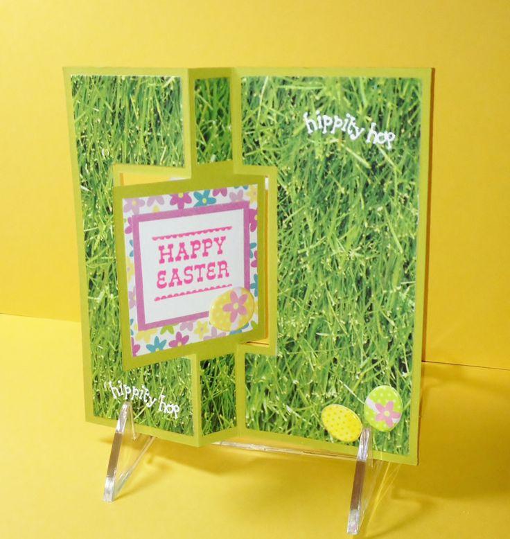 Easter Flip Card - Scrapbook.com | cards | Pinterest: pinterest.com/pin/66920744437402398