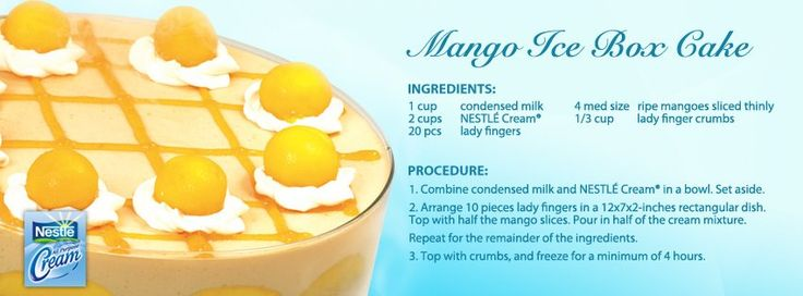 More like this: mango , mango cake and box cake .