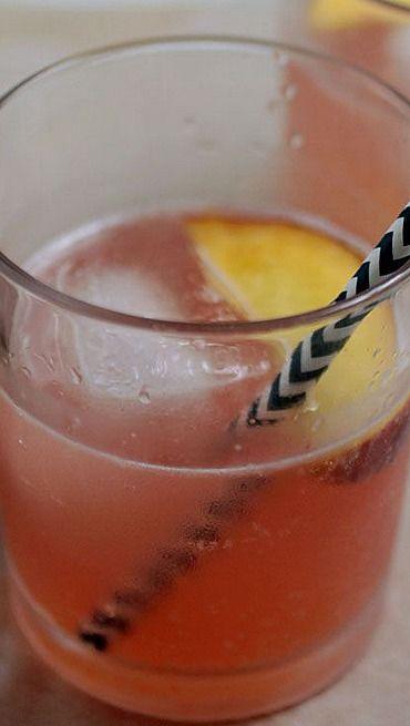 Peach Bourbon Spritzers | Recipe
