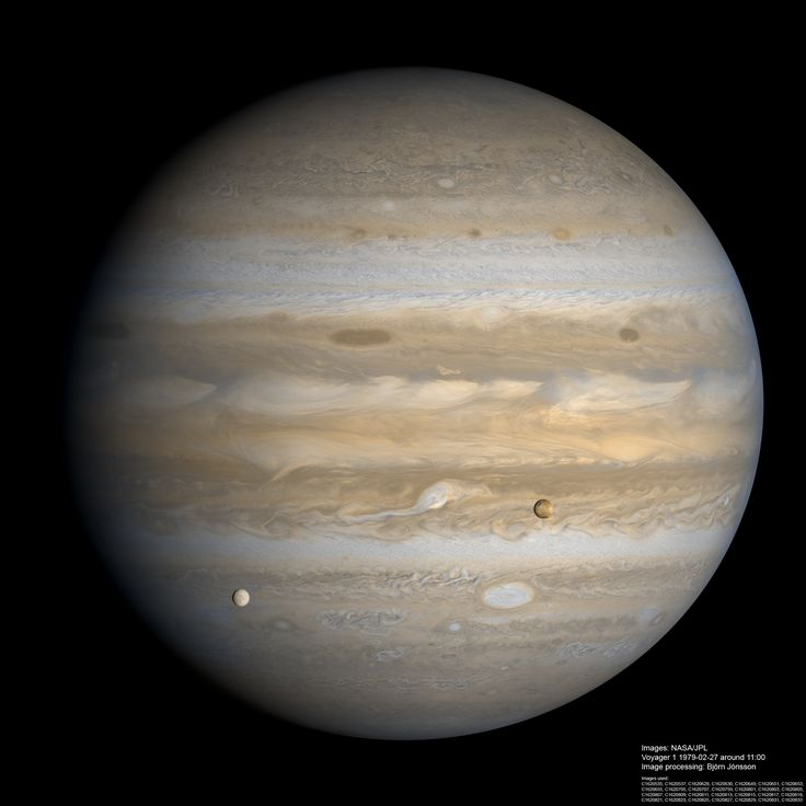 Jupiter, Io and Europa | Outer Space | Pinterest