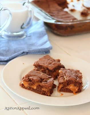 ... using box mixes, but these are worth it: Knock you naked brownies