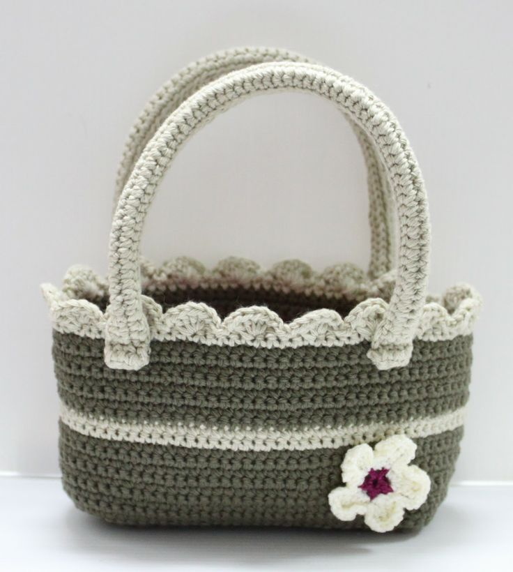 Flower Crochet Bag : FLOWER CROCHET BAG #crochet #bag #flower