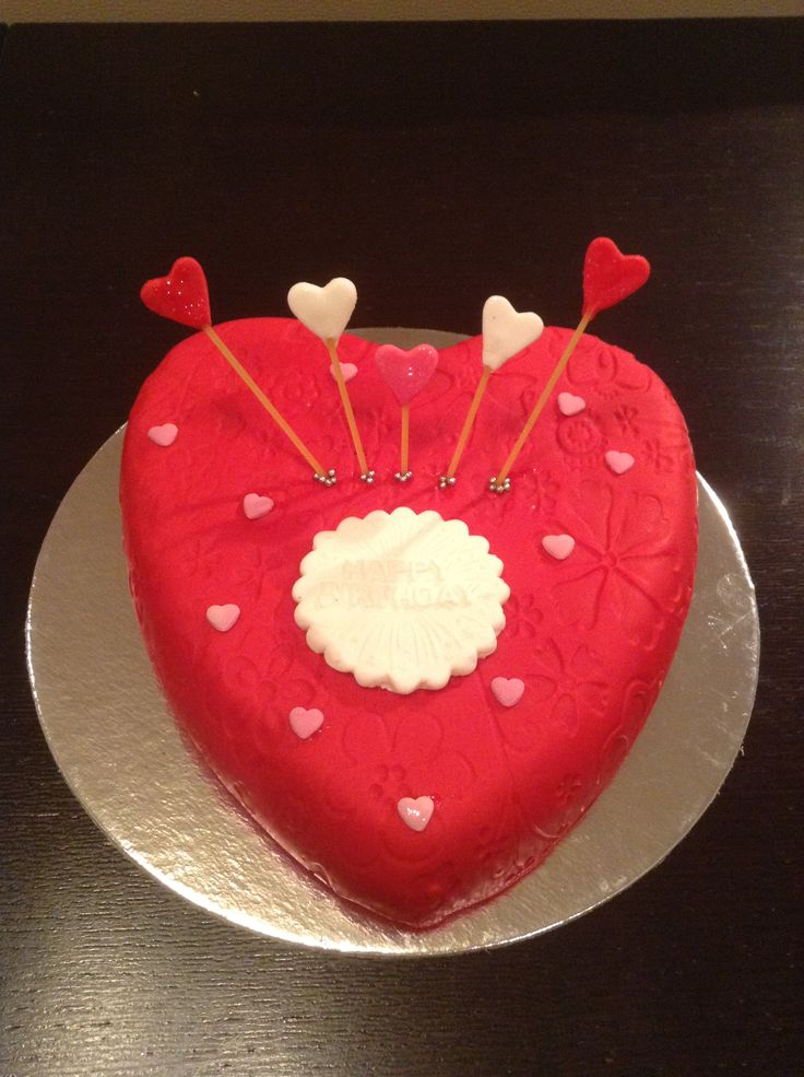 Birthday Cake Pictures Romantic : Pin Romantic Birthday Poems Kids Cakes Cake on Pinterest