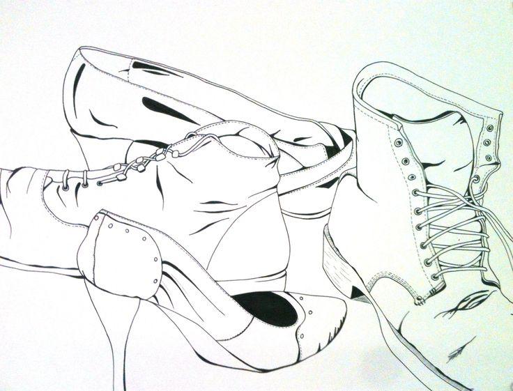 Contour Line Drawing Lesson : Contour line drawings drawing project ideas pinterest