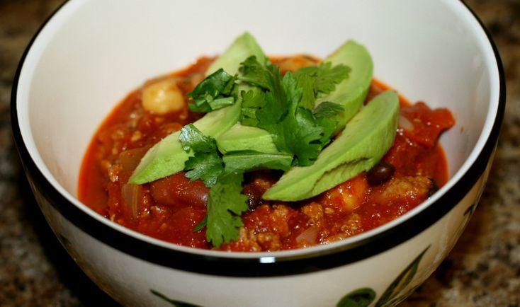Bean Turkey Chili « Hungry Hannah | Meat | Pinterest