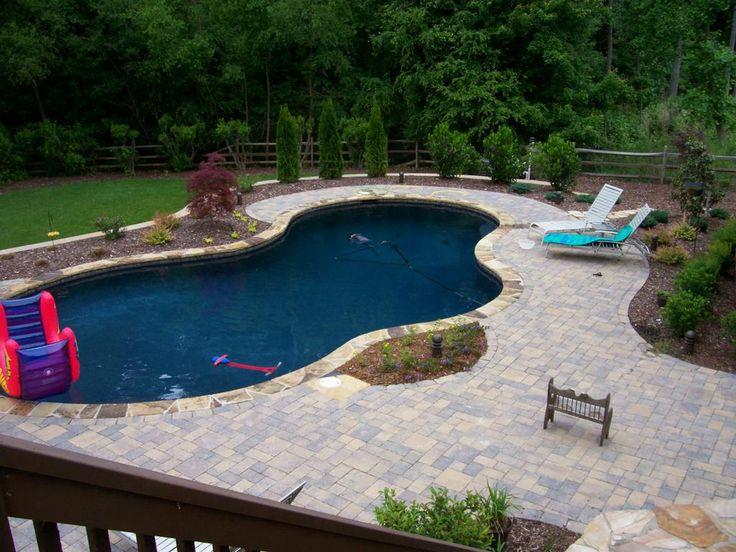 basic pool designs and landscaping landscape design