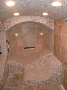 designer steam rooms with built in showers - Bing Images ...