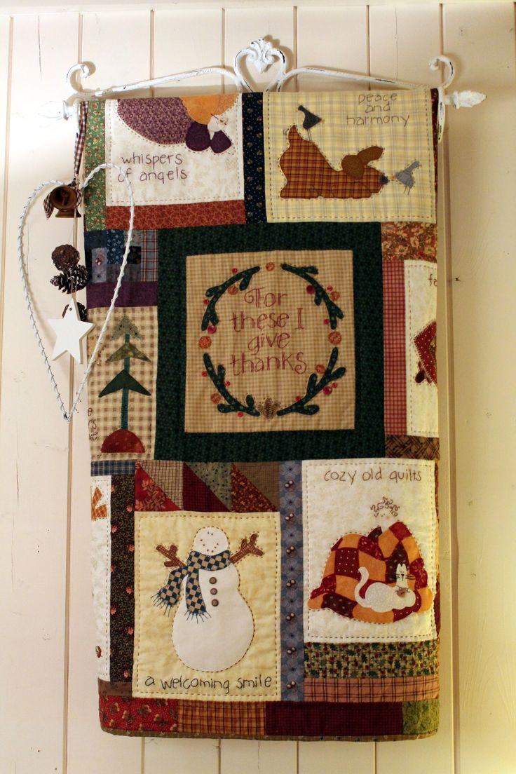 Thanksgiving quilt Quilts of Leonie Bouwman Pinterest