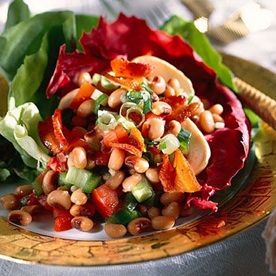 Black-Eyed Pea Salad | This colorful salad is as good as it looks ...