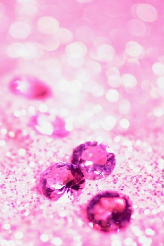 Pink bling iPhone wall...