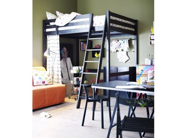 10 studios pour s inspirer - Lit mezzanine studio ...