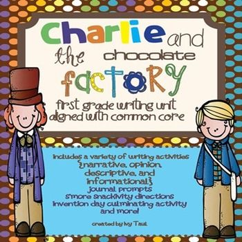 Charlie and the Chocolate Factory Classroom