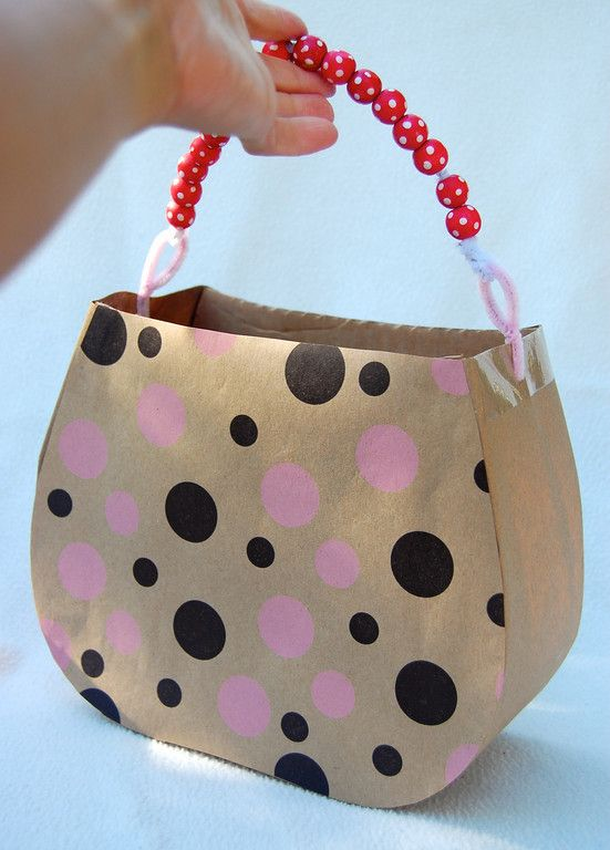 ikat bag: Tea Party Behind The Scenes - Cardboard
