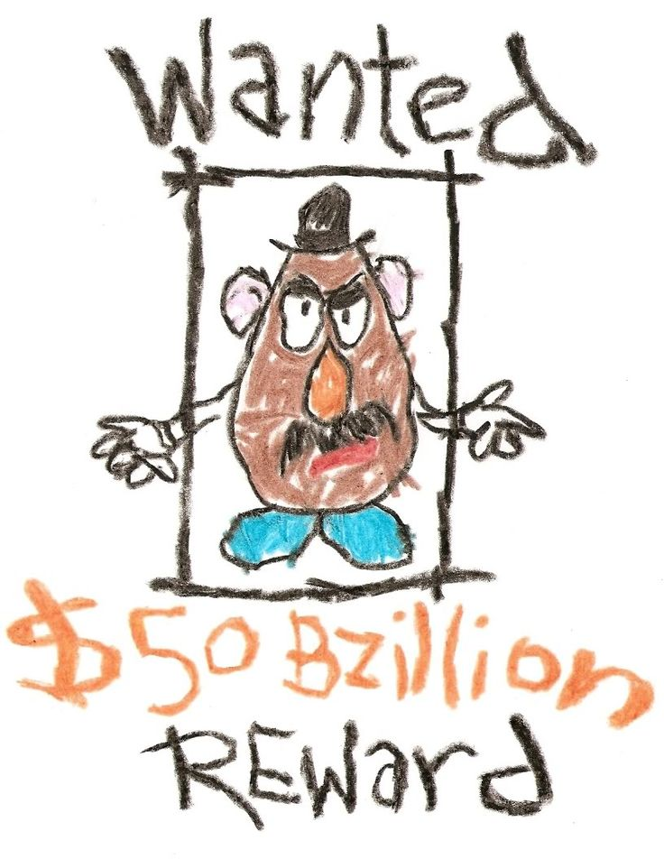Mr. Potato Head by Andy - Toy Story