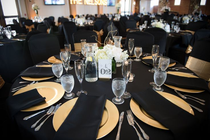 Marvelous Black And Gold Tablecloth Table Designs
