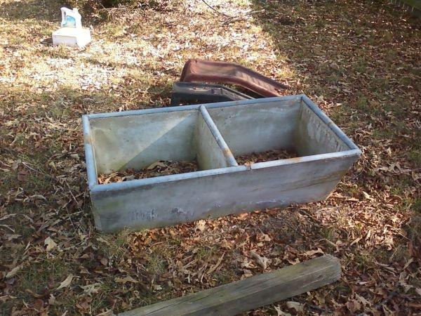 Concrete utility sink home/ laundry room Pinterest