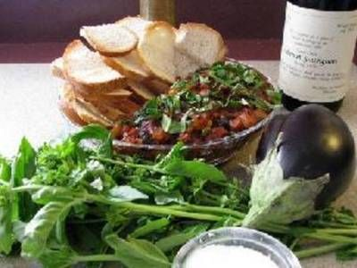 Authentic Sicilian caponata at its best, with eggplant, tomatoes ...