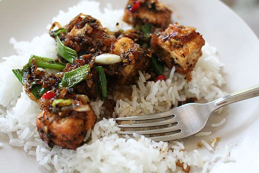 "Black Pepper Tofu - perfect for ""family"" dinner night Monday, Augus..."