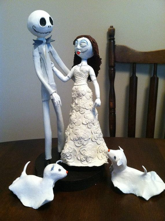Nightmare before christmas cake topper by midwestwhimsy on etsy 190
