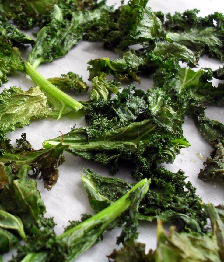 Crispy Kale Chips | Sides! | Pinterest
