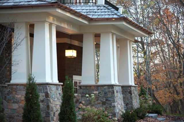Craftsman Front Porch For The Home Pinterest