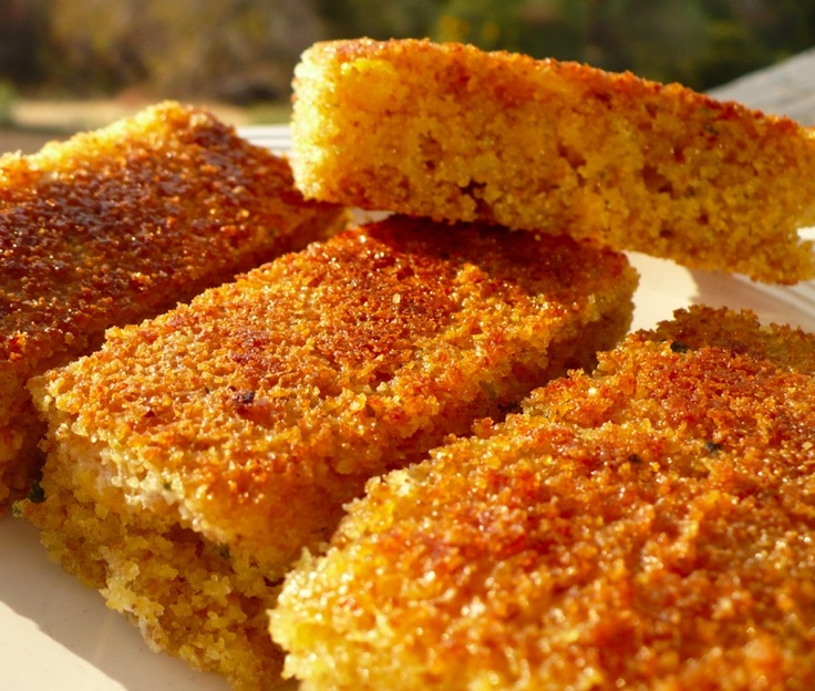 zucchini cornbread | Eat your way to Health | Pinterest