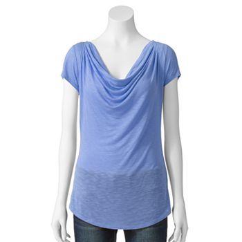 apt 9 essential drapeneck tee women 39 s modest clothing