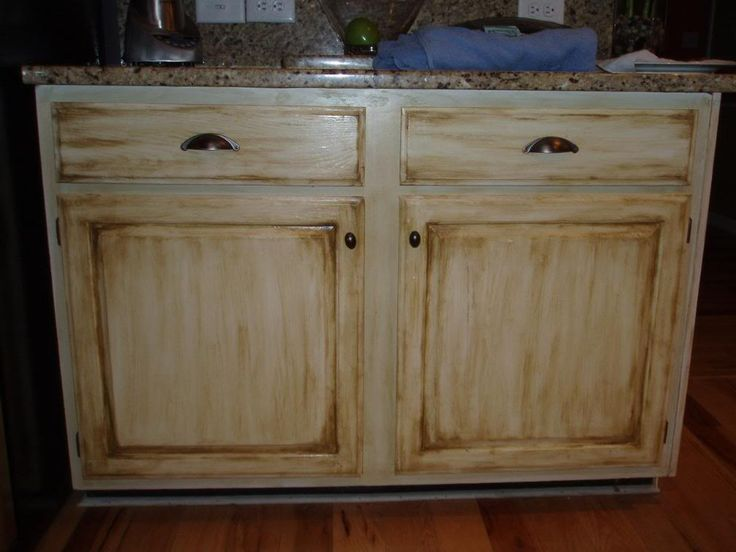 kitchen cabinets cream w chocolate glaze house ideas