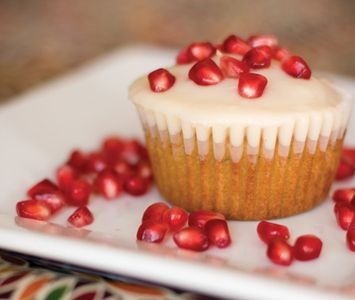 Pomegranate Mojito Cupcake   Sweets   Pinterest