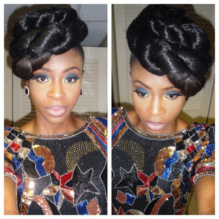 ... with Kanekalon hair Natural Hair: Protective Styles Pinterest