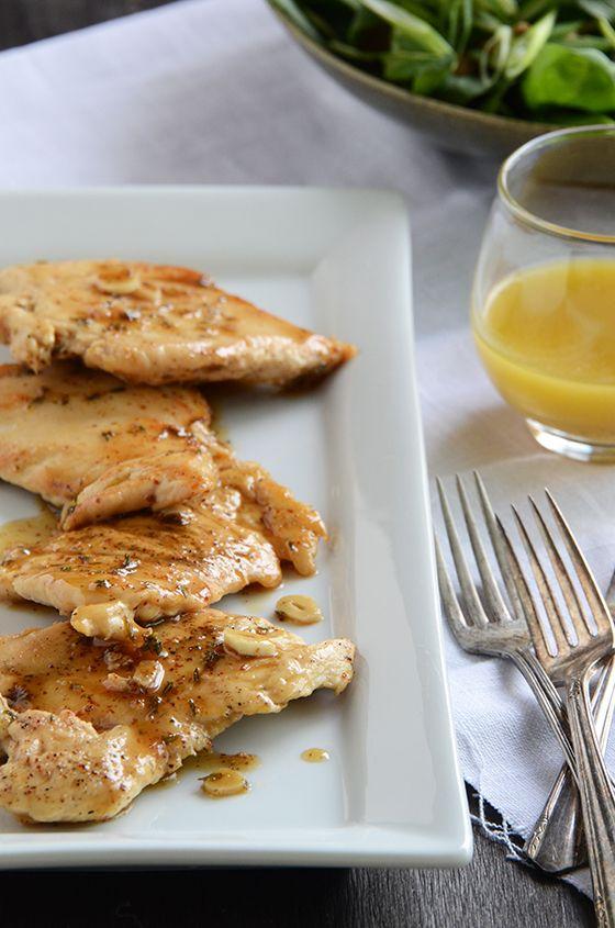 Mustard-Maple Chicken Recipe — Dishmaps