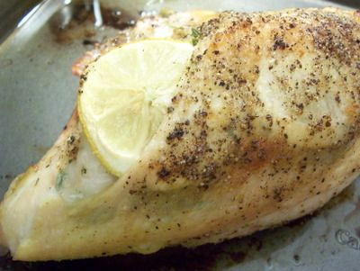 Garlic-herb roasted chicken breasts | Recipes/ Food | Pinterest