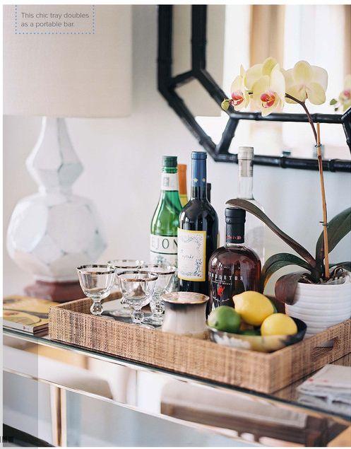 Bar tray