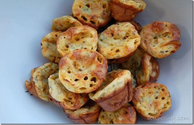 Cheesy popovers | Happy Tummy | Pinterest